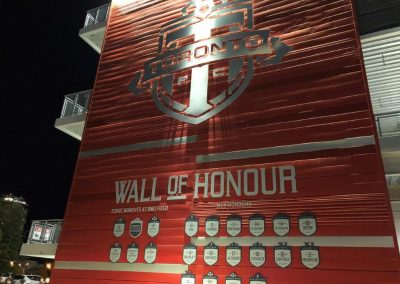 Wall of Honour at BMO Field