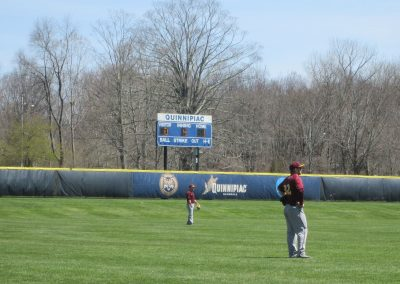 Right Field Embankment at Quinnipiac Baseball Field