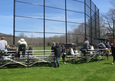 Seating at Quinnipiac Baseball Field