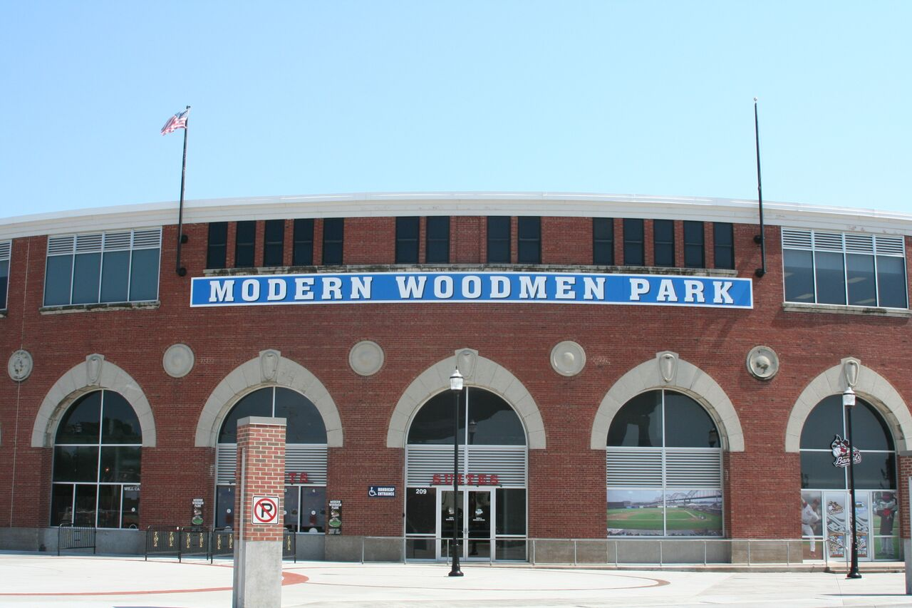 Modern Woodmen Park – Quad Cities River Bandits | Stadium Journey