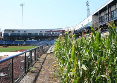 Corn Patch Down Third Baseline at Modern Woodmen Park