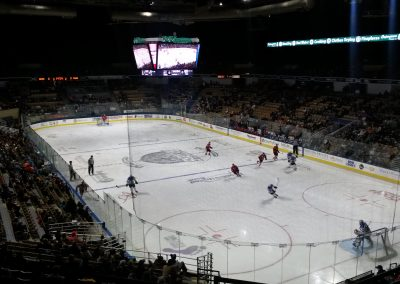 Game Action at DCU Center