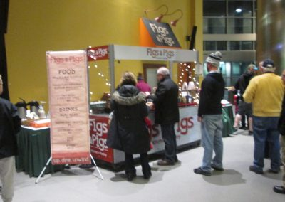 Pigs and Figs Stand at DCU Center