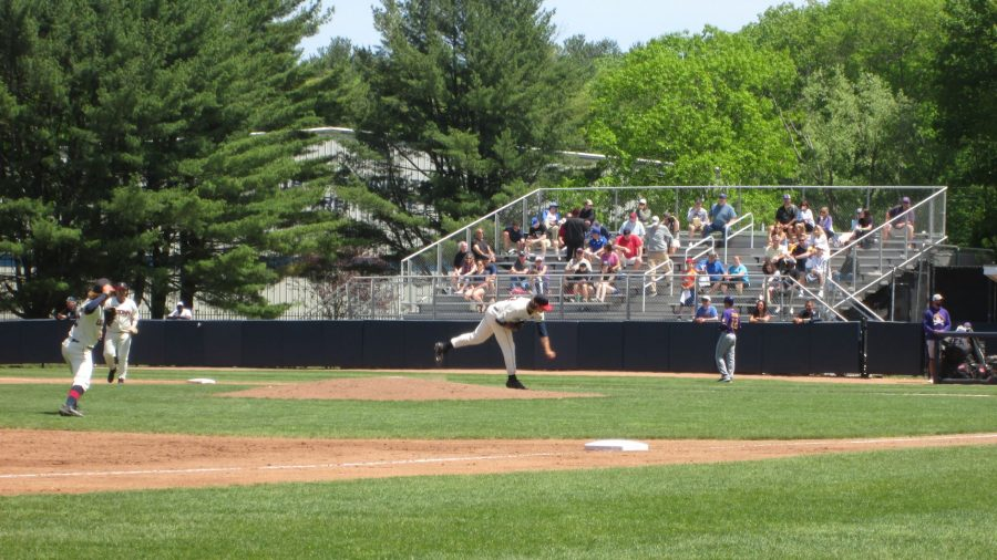 Delivering the Pitch at J.O. Christian Field