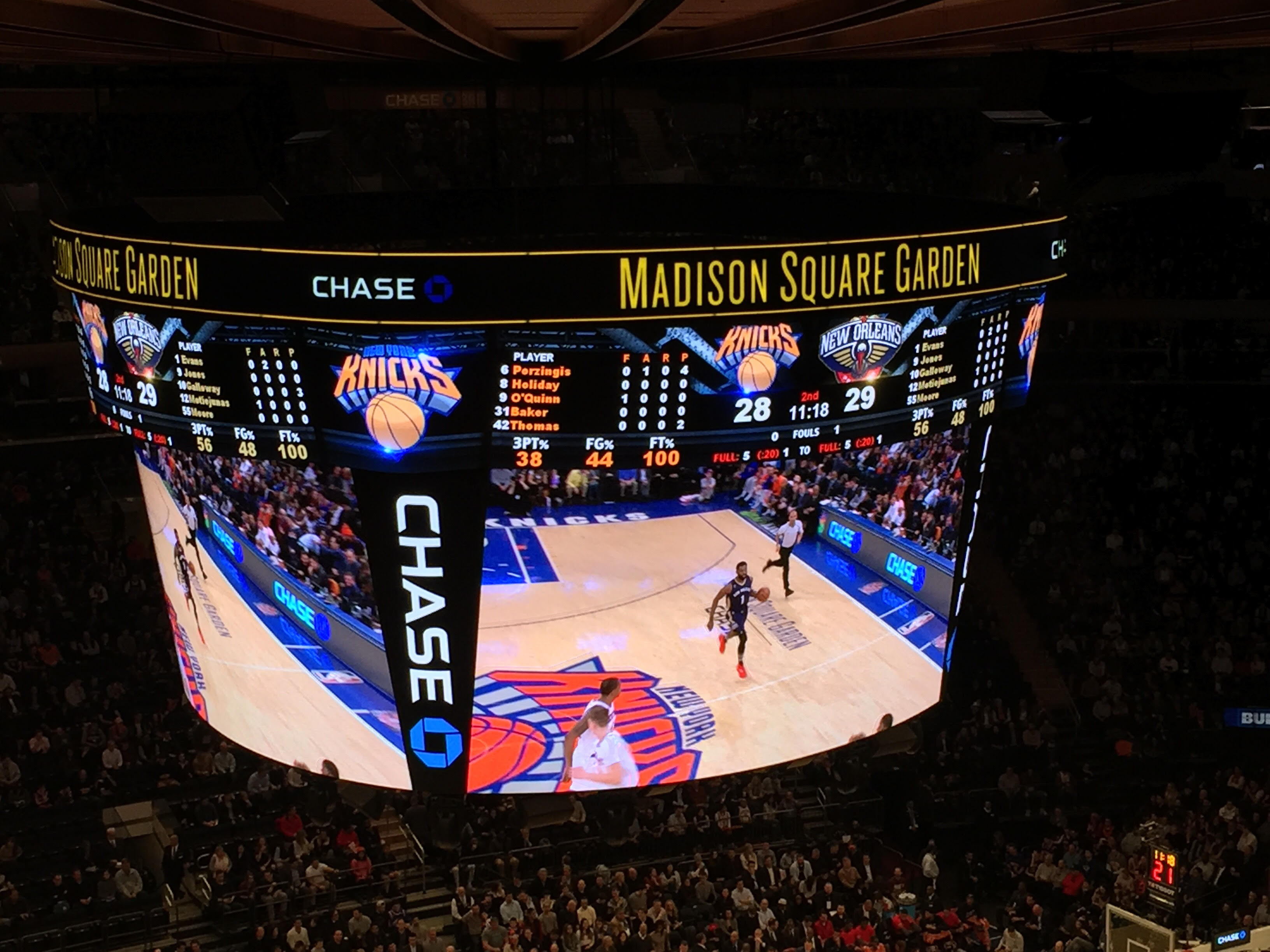 Madison Square Garden: Madison Square Garden – New York Knicks