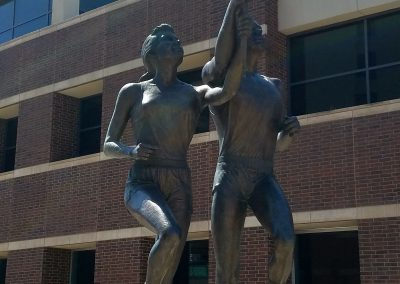 Chesapeake Energy Arena, Olympic Festival statue outside the arena