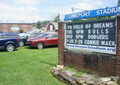 Limeport Stadium Main Sign