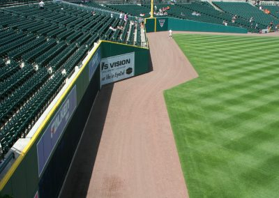 Comerica Park Outfield Wall