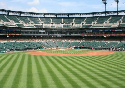 Comerica Park View from Center Field