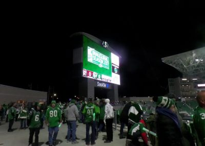 Mosaic Stadium, Plaza in the End Zone