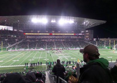 Mosaic Stadium, View from the Stands