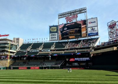Target Field Video Board