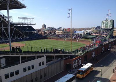 Wrigley Field from Rooftop