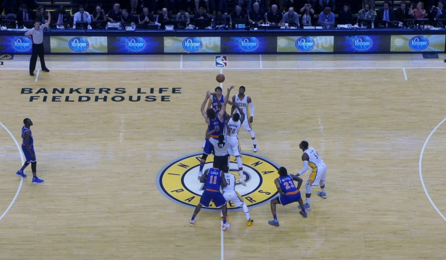 Bankers Life Fieldhouse, the Indiana Pacers in action