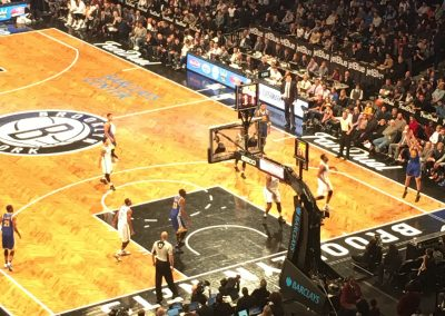 Barclays Center, the Brooklyn Nets in action