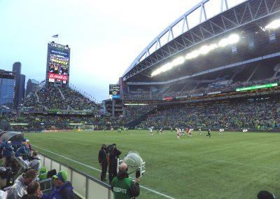 Century Link Field Pitch