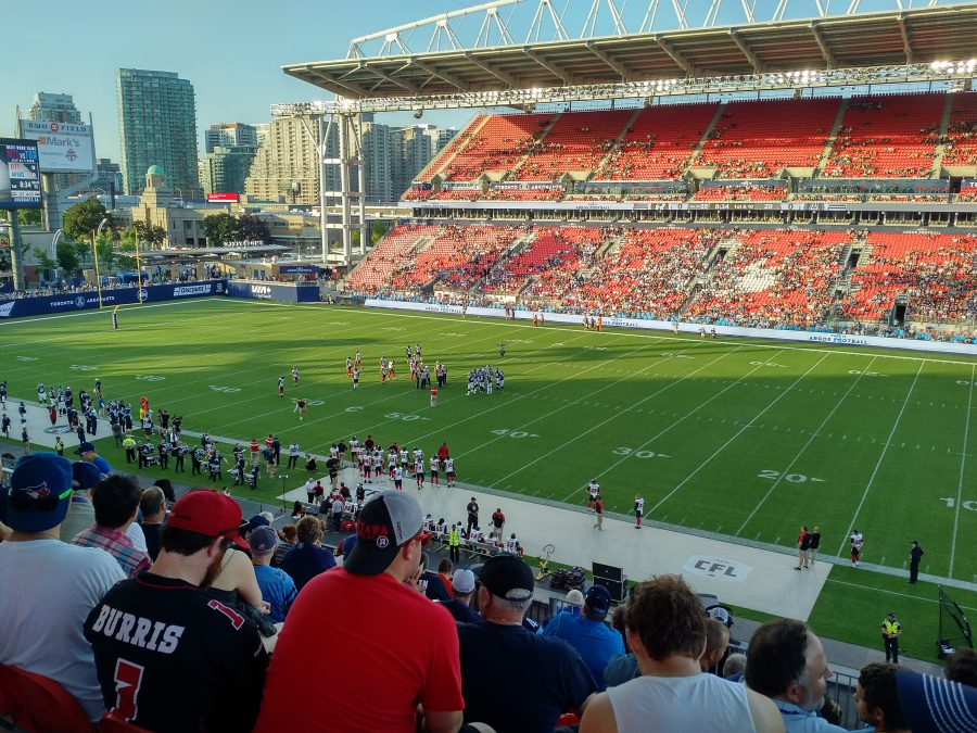 BMO Field, interior