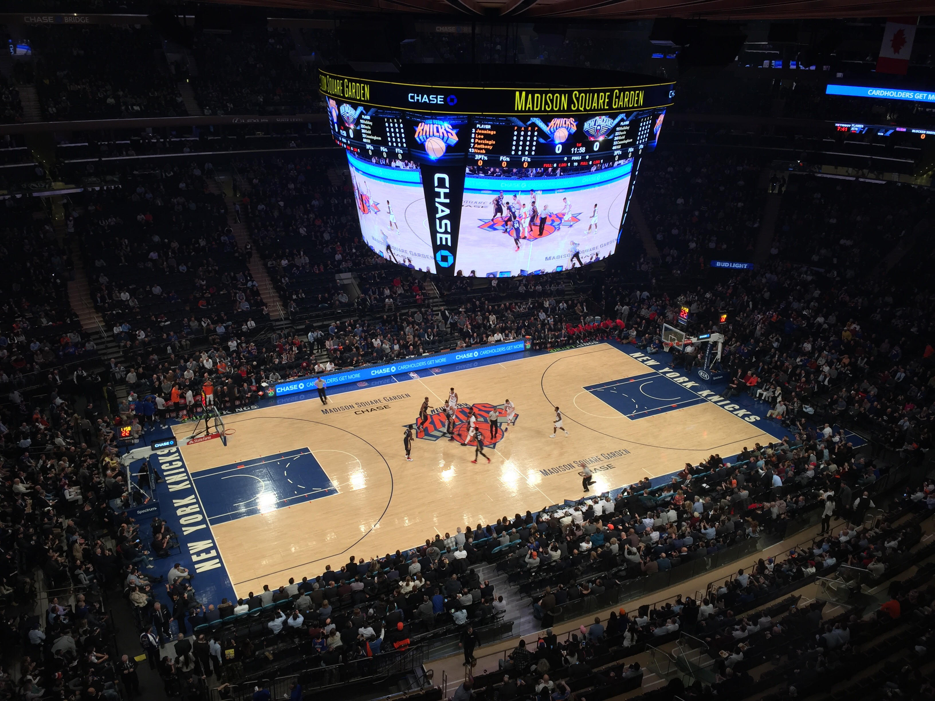 Madison Square Garden, Interior