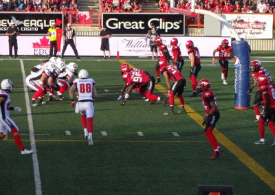 McMahon Stadium, Calgary Stampeders in action