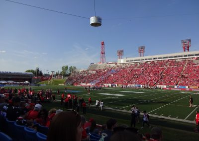 McMahon Stadium, a look at the unique sound system