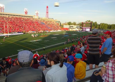 McMahon Stadium, interior