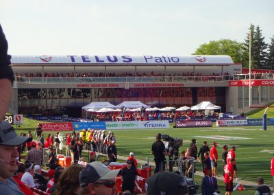 McMahon Stadium, the TELUS Patio