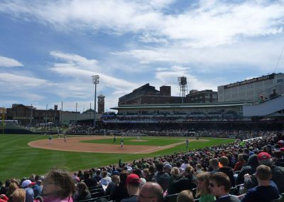 Fifth Third Field from Left Field Line