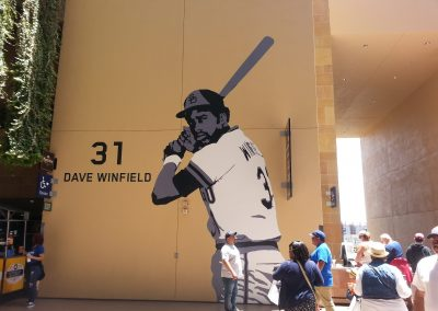 Petco Park Dave Winfield Mural