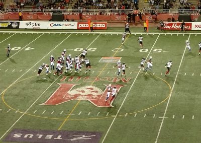 Percival Molson Memorial Stadium, Montreal Alouettes in action