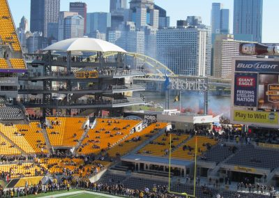 Pittsburgh as seen from Heinz Field