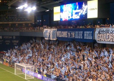 Children's Mercy Park Supporter Section