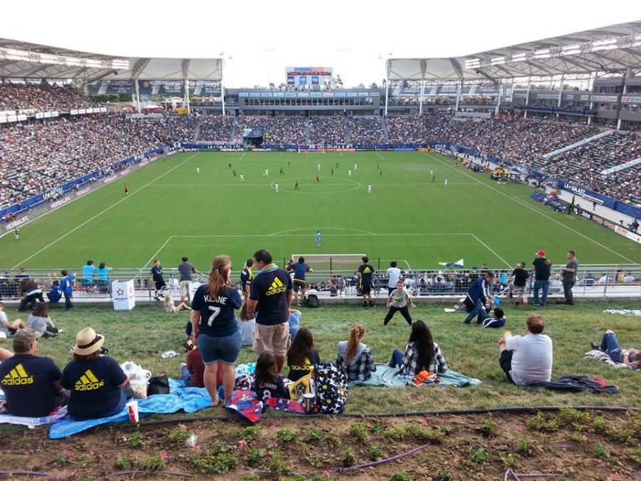 Stubhub Center View From The Hill