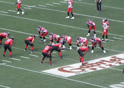 TD Place Stadium, Ottawa Redblacks in action