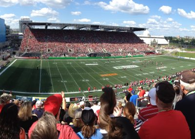TD Place Stadium, panoramic view