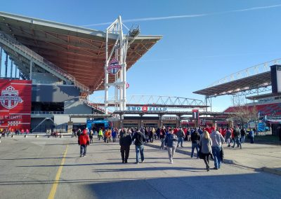 BMO Field Entrance