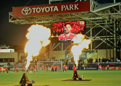 Toyota Park Player Introductions