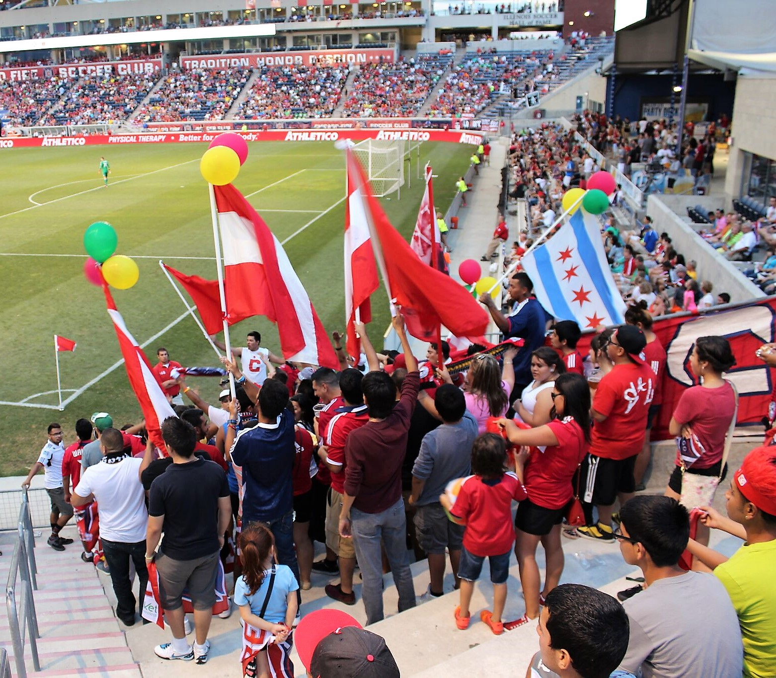 Toyota Park Supporters
