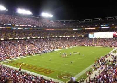 Night Game at FedExField