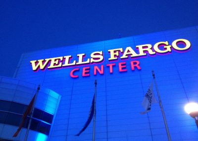 Wells Fargo Center, exterior