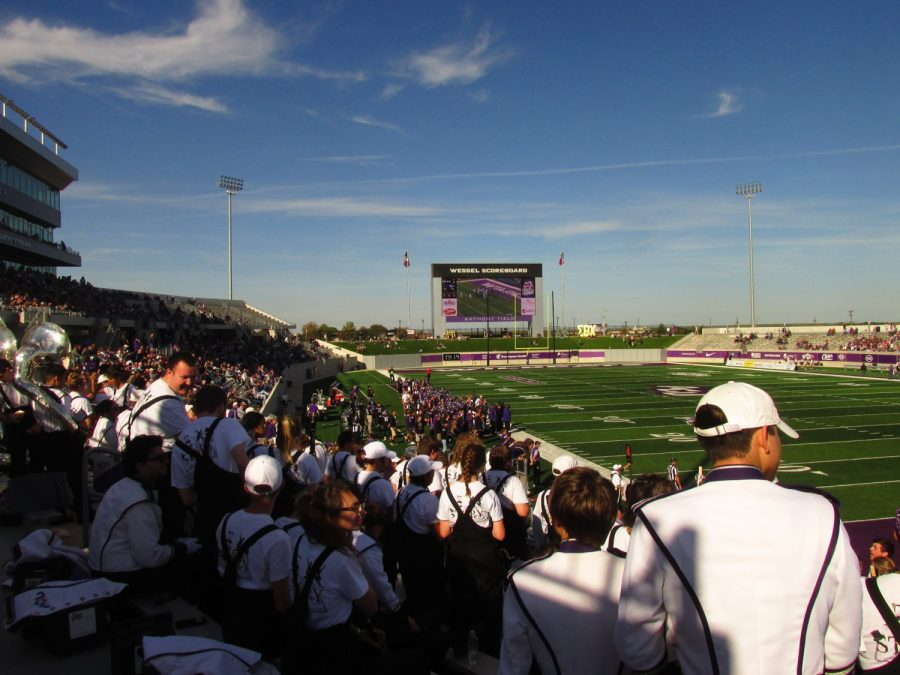 Wildcat Stadium, View from the Band's Seats