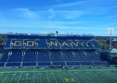 Navy-Marine Corps Memorial Stadium Interior, Home of the Military Bowl