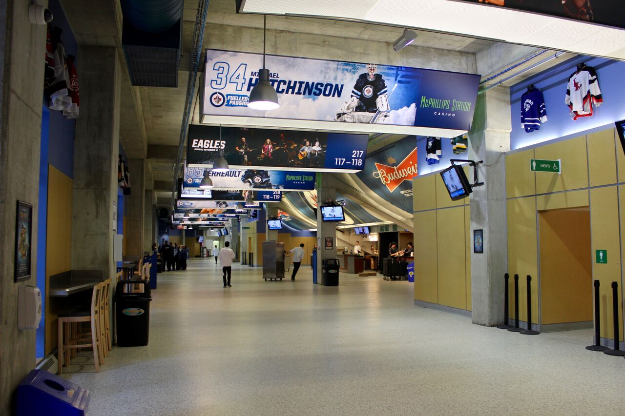 The 100 Concourse at Bell MTS Place 77f868ef9