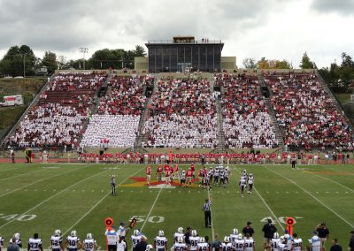 Alumni Memorial Field at Foster Stadium, Home Stands