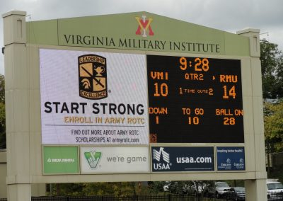 Alumni Memorial Field at Foster Stadium, Scoreboard