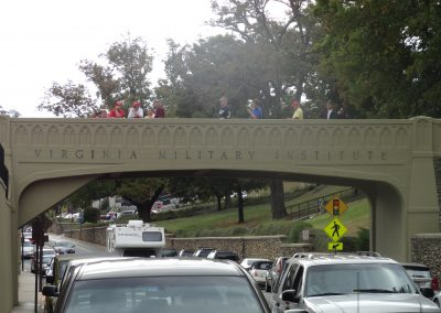 Alumni Memorial Field at Foster Stadium, VMI Street Bridge