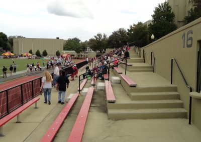 Alumni Memorial Field at Foster Stadium, Visitor Stands