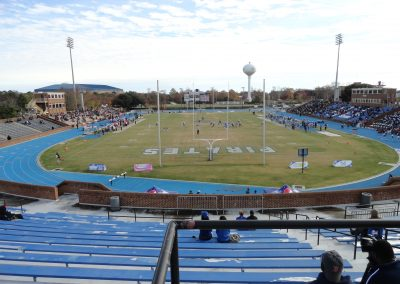 Armstrong Stadium, View from North End Zone