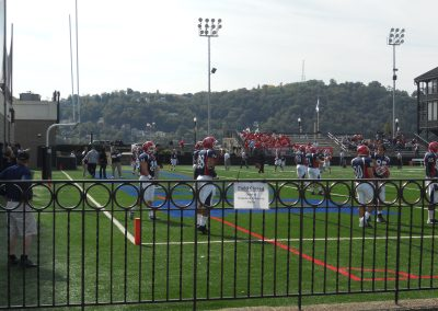 Arthur J. Rooney Athletic Field, Players Practicing Before the Game