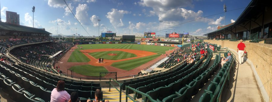 Louisville Slugger Field Panoramic View