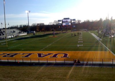 Bob Ford Field, view from the end zone